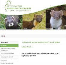 32nd European Mustelid Colloquium
