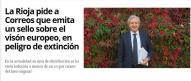 La Rioja pide a Correos que emita un sello sobre el visón europeo